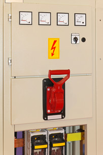 Main power switchの写真素材 [FYI00654445]