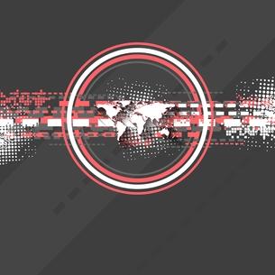 Minimal tech vector backgroundの写真素材 [FYI00654509]