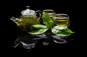 Green teaの素材 [FYI00654563]
