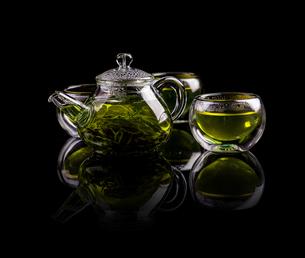 Tea in glassの素材 [FYI00654572]