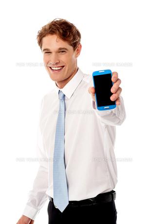 Most advanced smart phone in market !の写真素材 [FYI00654632]