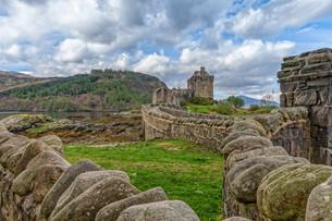 elian donan castleの写真素材 [FYI00654732]