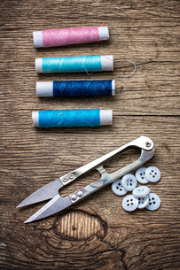 sewing toolsの写真素材 [FYI00654952]