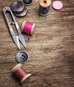 sewing toolsの写真素材 [FYI00654955]