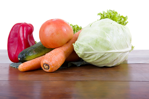 vegetablesの写真素材 [FYI00655039]