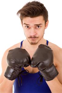 man boxerの写真素材 [FYI00655066]