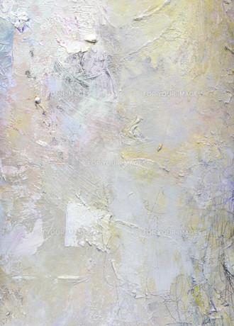 painting textures impasto khakiの素材 [FYI00655287]