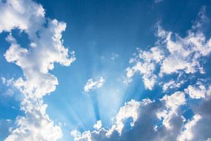 青空と雲の写真素材 [FYI00655759]