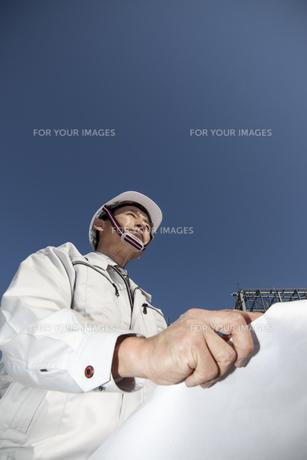 建築現場と技術者イメージの写真素材 [FYI00655805]