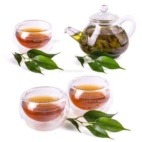 Cups of teaの素材 [FYI00656154]