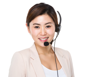 Customer services consultantの写真素材 [FYI00656413]
