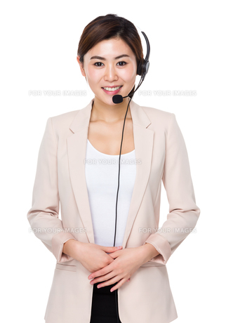 Customer services officerの写真素材 [FYI00656416]