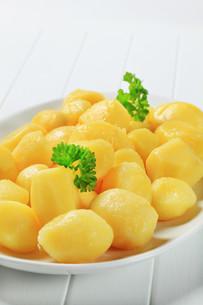 Boiled potatoesの素材 [FYI00656529]