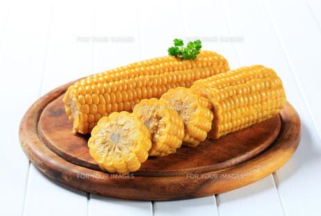 Corn on the cobの写真素材 [FYI00656548]