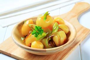 Potatoes with leekの写真素材 [FYI00656550]