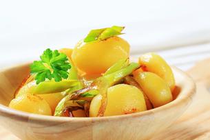 Potatoes with leekの写真素材 [FYI00656553]