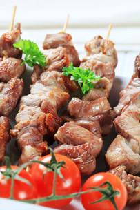 Pork skewersの写真素材 [FYI00656589]