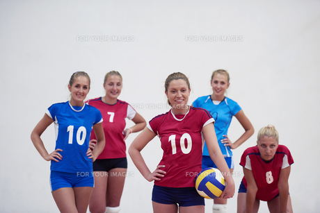 volleyball  woman groupの写真素材 [FYI00656822]