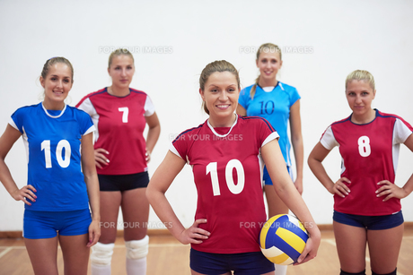 volleyball  woman groupの写真素材 [FYI00656826]