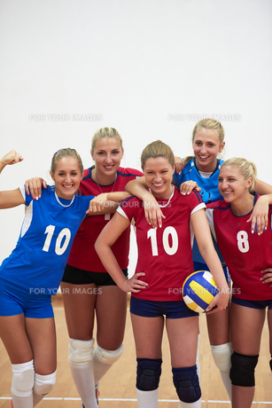 volleyball  woman groupの写真素材 [FYI00656827]