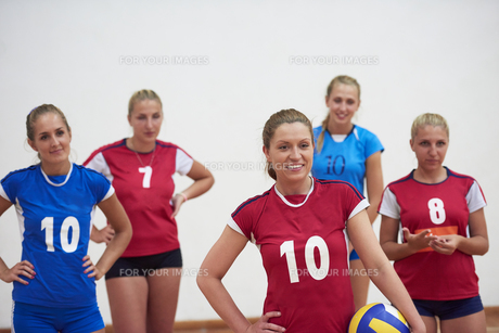 volleyball  woman groupの写真素材 [FYI00656828]