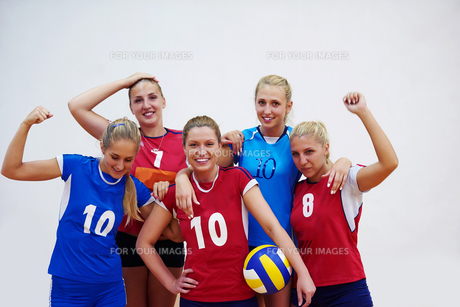 volleyball  woman groupの写真素材 [FYI00656830]