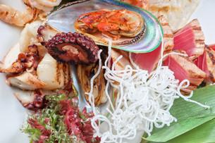 seafood mixの写真素材 [FYI00656915]
