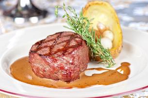 beef steakの写真素材 [FYI00656916]