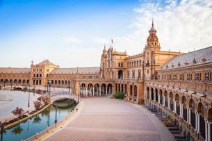 Seville Spain Squareの写真素材 [FYI00657085]