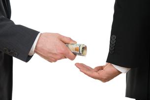 Businessman Taking Bribeの写真素材 [FYI00657220]
