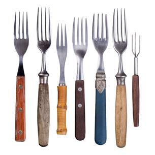 Set of forksの写真素材 [FYI00657369]