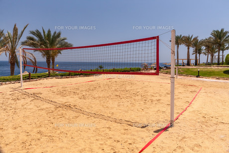 Beach at the luxury hotel, Sharm el Sheikh, Egyptの写真素材 [FYI00657650]
