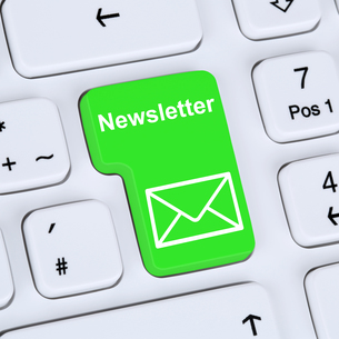 send internet concept newsletter for business marketing campaignの写真素材 [FYI00657883]