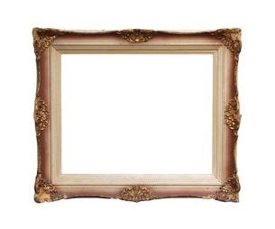 Vintage wooden frameの写真素材 [FYI00657885]