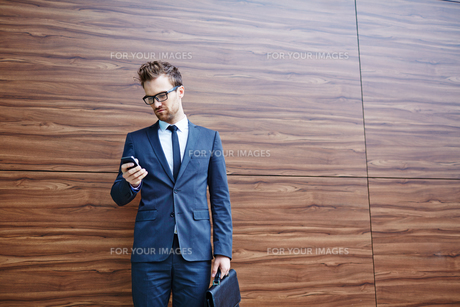 Mobile businessの写真素材 [FYI00658033]