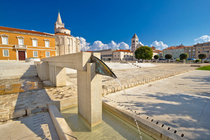 City of Zadar old Forum squareの写真素材 [FYI00658084]