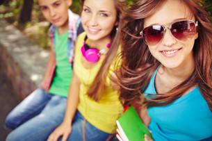 Carefree teensの写真素材 [FYI00658120]