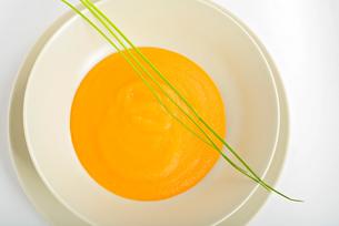 Healthy pumpkin soupの写真素材 [FYI00658146]