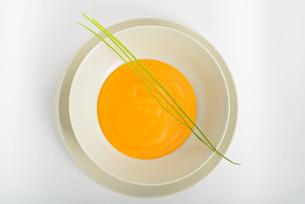 Delicious pumpkin soupの写真素材 [FYI00658147]