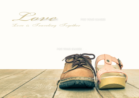 Love and Romance Concept Background Vintage Styleの写真素材 [FYI00658189]