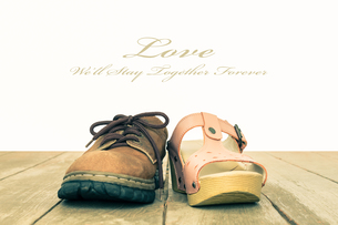 Love and Romance Concept Background Vintage Style Center Viewの写真素材 [FYI00658191]