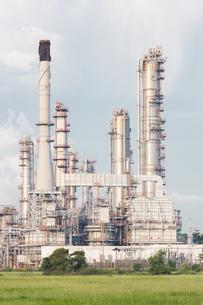Oil Refinery Plantの写真素材 [FYI00658709]