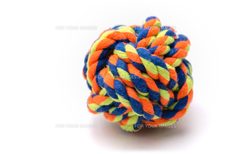 Colorful Dog Rope Ball Toyの写真素材 [FYI00658898]