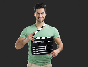Young director guyの写真素材 [FYI00658931]
