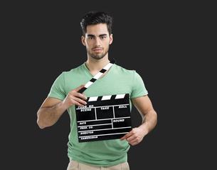 Young director guyの写真素材 [FYI00658935]