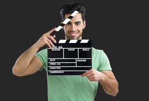 Young director guyの写真素材 [FYI00658937]