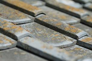 Japanese Tile Roofの写真素材 [FYI00659210]