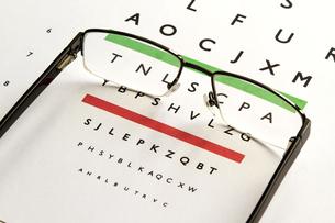 Eyes Test.の写真素材 [FYI00659919]