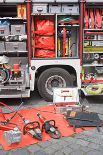 Fire Truck Equipmentの写真素材 [FYI00660151]