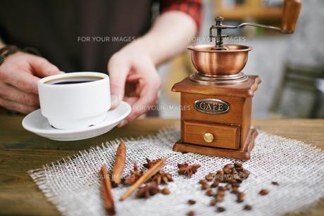 Aromatic drinkの写真素材 [FYI00660198]
